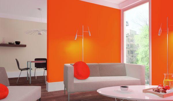 Akrylowy lakier transparentny – ściany z blaskiem