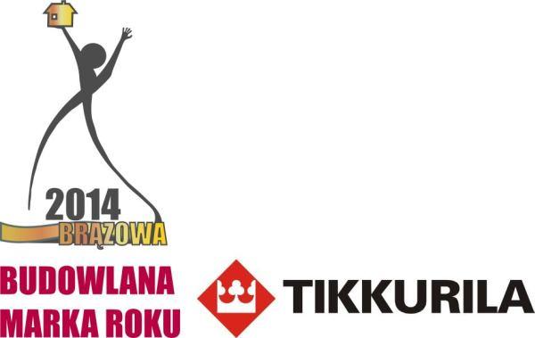 Brązowa Budowlana Marka Roku 2014 dla Tikkurila