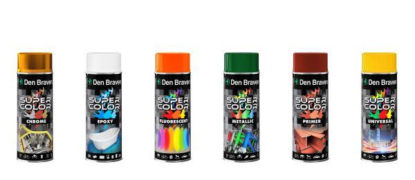 Super Color w siedmiu odsłonach – lakiery w spray'u
