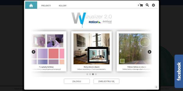 Dobieranie kolorów ścian: wizualizacje