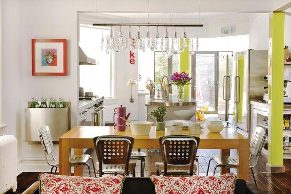Wiosenne aranżacje kuchni w kolorach