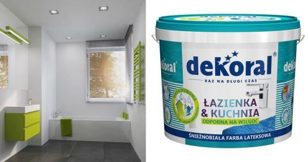 Śnieżnobiała farba do łazienki i kuchni w jeszcze lepszym wydaniu